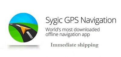 SYGIC GPS NAVIGATION Map Software for Europe - Windows CE