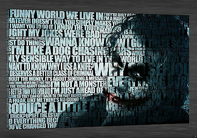 POPT034 abstract Home Deco modern HD Print Oil Painting Wall Art,the Joker