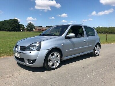renault clio 172/182 sport only 81k and completely standard
