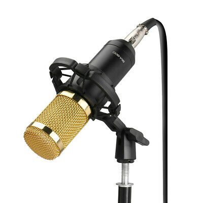 Condenser Pro Audio BM-900 Microphone Sound Studio Dynamic Mic With shock Mount