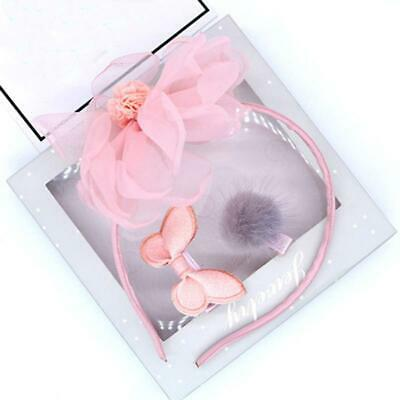 Bow Star Hair Band Headband Headwear For Baby Girls Toddler Kids Accessories LC