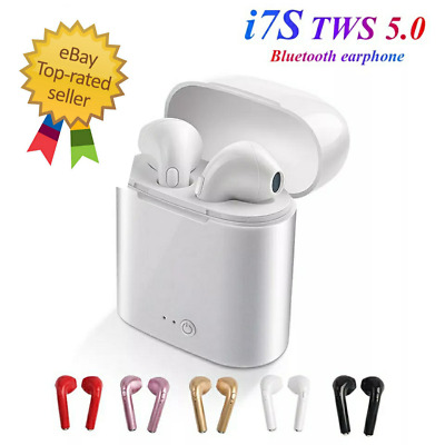 Bluetooth i7s TWS earphones Headset Wireless headphone Sports With microphone!!