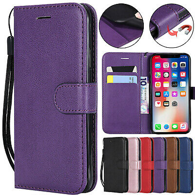 For Huawei Mate 20 X P20 P30 Pro Y9 New Magnetic Leather Wallet Flip Case Cover