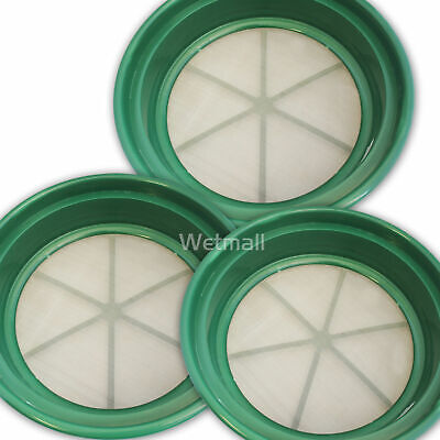 3 pc Classifier Screen Sifting Pans For Your Gold Panning 1/20, 1/50, 1/100