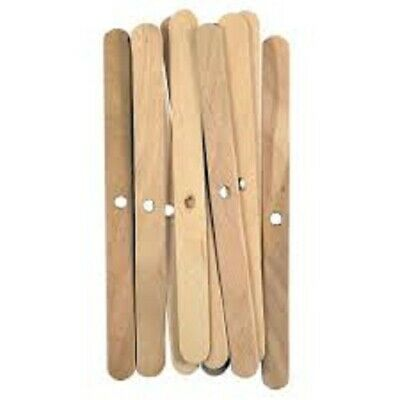 Candle Wick Holder Wooden - Pack Of 12 Wick holders | Candle Making Supplies