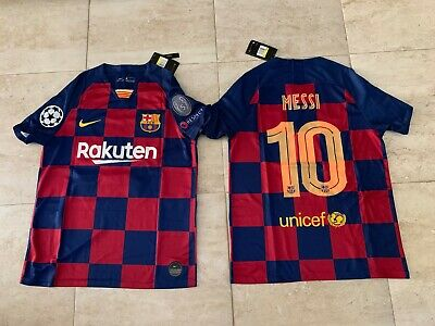 Lionel Messi FC Barcelona Home Jersey 2019/2020 #10