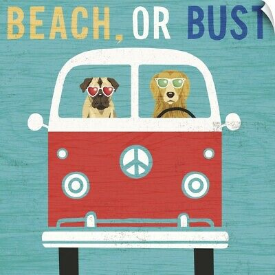 Wall Decal entitled Beach Bums Bus