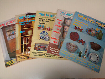 The Antique Trader Weekly Annual Issues (5) Mixed 1978 through 1983
