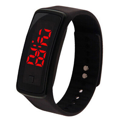Touch Screen LED Digital Silicone Sports Wrist Watch For Men/Women Time Bracelet