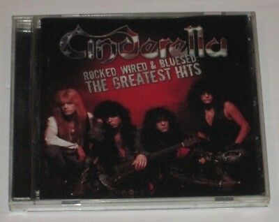 Rock Cinderella Rocked Wired Bluesed Greatest Hits Cd Lightly Used