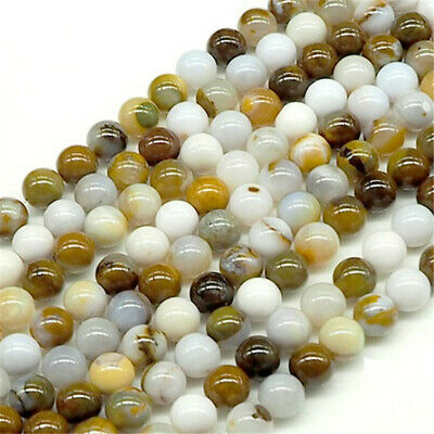 8mm Natural Round Color Opal Loose Beads Diy Accessories Strand Handmade Lots
