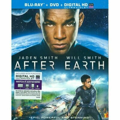 After Earth (Two Disc Combo: Blu-ray / DVD + UltraViolet Digital Copy) DVD, ,
