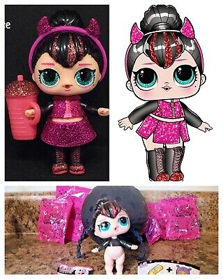 LOL Surprise Spice Glam Glitter Series 2 Doll Ball Big Sister Sparkle Complete