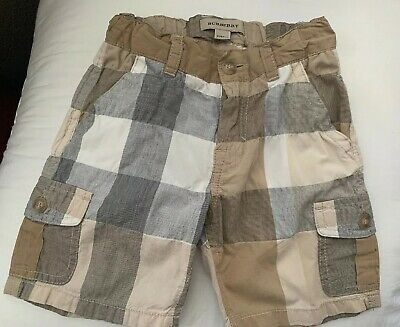 Baby toddler Boy BURBERRY shorts Size 2 2T Summer Spring