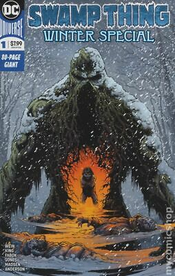 Swamp Thing Winter Special 1A 2018 Fabok Variant VF 8.0 Stock Image