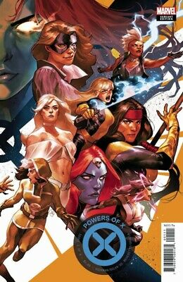 Powers Of X #2 Putri Connecting Variant Marvel Comics Hickman R.b. Silva 081419