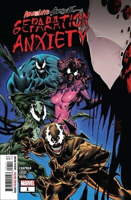 Absolute Carnage Separation Anxiety #1 Ac Marvel Deadpool Vs Carnage 081419