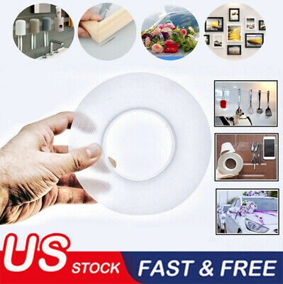 MAGIC Double sided Grip Tape Washable Traceless Adhesive Tape Nano Invisible Gel