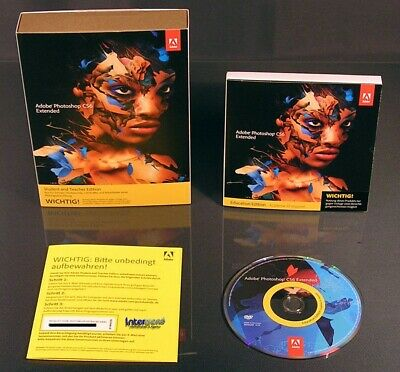 Licence Adobe Photoshop CS6 Extended. Multilingue, Windows 32/64