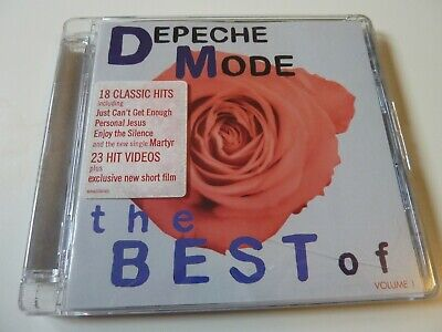 DEPECHE MODE - Best Of Volume 1 - Ltd CD + DVD - VG - SALE PRICE