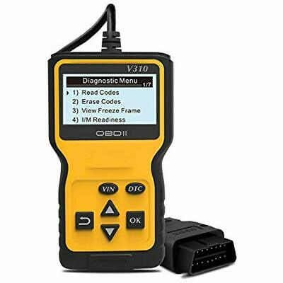 OBD2 Scanner, Car Fault Code Reader Enhanced OBDII Engine Analyzer CAN Tool For