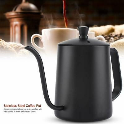Stainless Steel Gooseneck Spout Kettle Pour Over Coffee Long Drip Pot