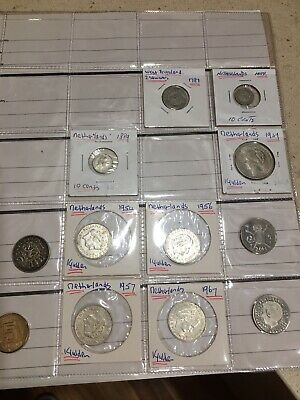 Dutch  Coins various dates