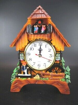 Cuckoo Clock Clock Black Forest Watch 20 cm! to Put down, Souvenir Germany