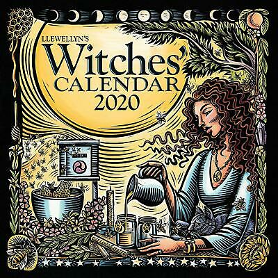 Llewellyn's 2020 Witches Calendar by Llewellyn Publications