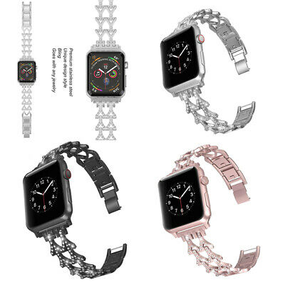 Metal Strap Steel Strap for Apple iwatch series 3/2/1 38-42mm Sport Watchband