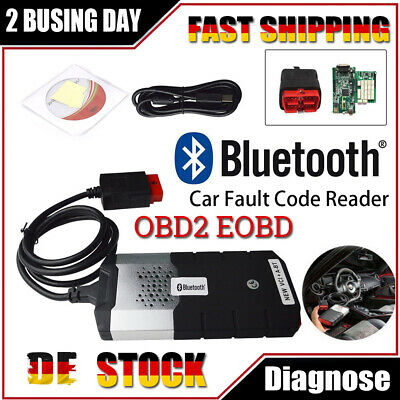 KFZ Profi Diagnosegerät Bluetooth OBD Diagnose Scanner mit DS 2015R3 Software.
