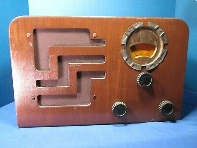 PHILCO TABLE MODEL RADIO - MODEL 38-62 - TUBES -  c1938