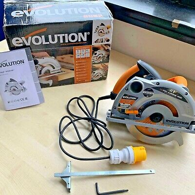 Evolution RAGE1B1851 1050W 185mm  110V Electric Multipurpose Circular Saw