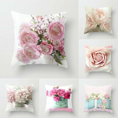 18in Case pillows sofa Decor Artificial official cover Home flower throw cushion