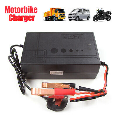 UK HOT 12V 20A Connect and Forget Leisure Battery Charger Caravan Motorhome Boat