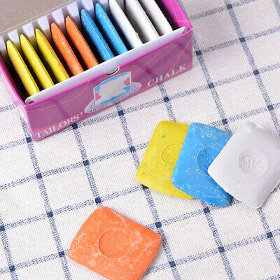 10PCS New Markers DIY Colorful  Sewing Tailors Erasable  Fabric Chalk Dressmaker