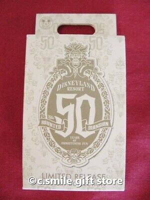 Disney Ltd Release Mystery Pin Sealed Box Haunted Mansion 50th Anniversary