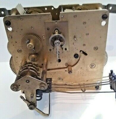 Kienzel Westminster Chime Movement GOOD Platform Escapement!