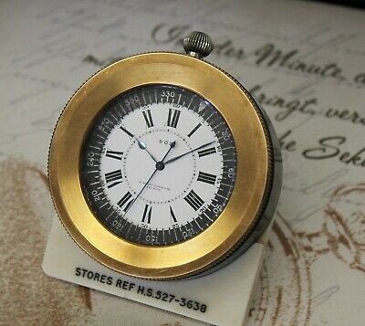 H. Golay & Son LTD LONDON Royal Navy Deck Watch mit Orginal Bakelit befestigung