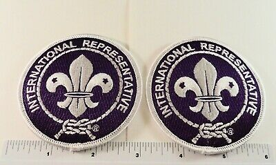 """HOT at the 2019 24th World Scout Jamboree: - (TWO) IR - 3"""" Rounds"""
