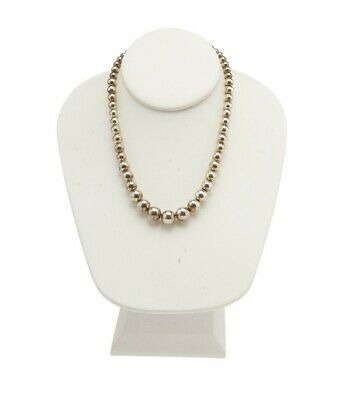 Tiffany & Co. Sterling Sterling Silver Beaded Necklace