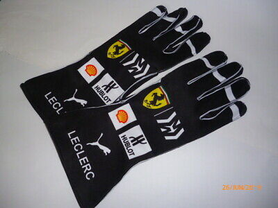 Charles Leclerc Ferrari 2019 gloves !!  F1  fan / kart  design !!