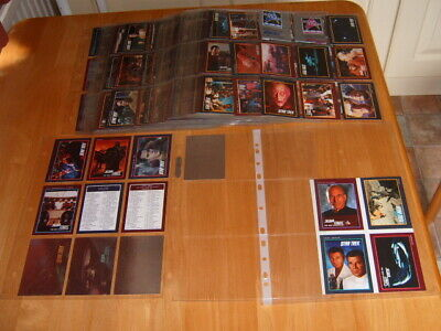 Complete set of 310 Star Trek 25th Anniversary TV Series 1991 Trading Cards