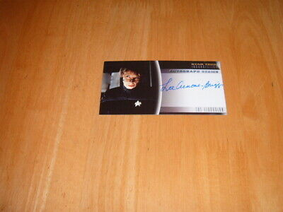 Star Trek Insurrection 1998 Autograph card A15 The Librarian