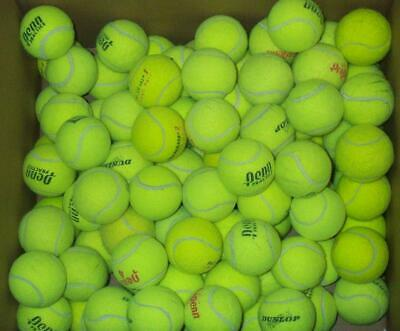 100 Tennis Balls.  Used.  Good for practice.
