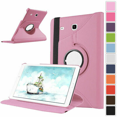 For Samsung Galaxy Tab A SM-T280 T285 360 Rotating Leather Smart Flip Stand Case