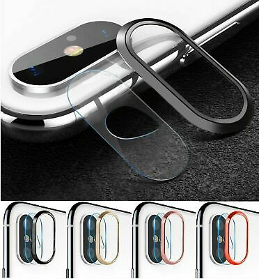 Tempered Glass Camera Lens Protector Screen For iPhone X XS MAX XR 8 7 PLUS