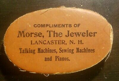 Gramophone phonograph record duster lancaster NH talking machines pianos