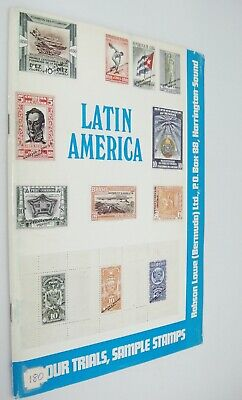 Waterlow Sample Stamps Die Proofs Colour Trials Latin America Catalog by Lowe