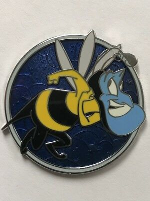 Disney Parks Aladdin's 25th Anniversary Genie Bumble Bee Mystery LR Pin